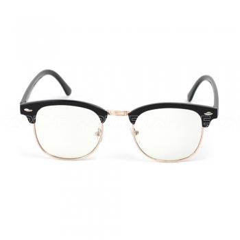 Óculos estéticos clear Clubmaster