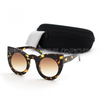 Óculos de sol CircleCat Brown