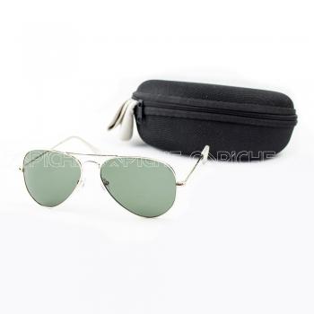 Óculos de sol Aviator Clássico Green