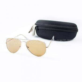 Óculos de sol Aviator Clássico Brown