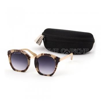 Óculos de sol Tanzi Castanho