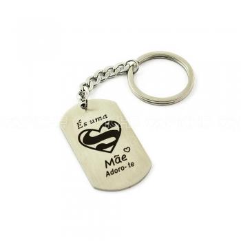 Porta chaves Super Mãe