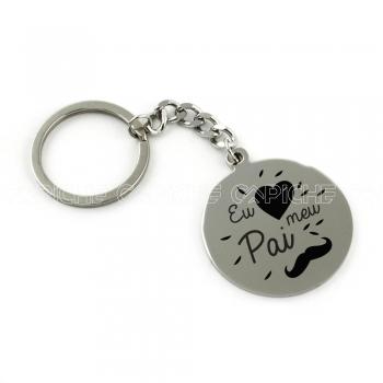 Porta chaves Eu amo