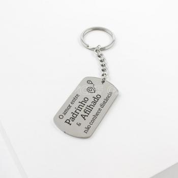 Porta chaves Padrinho Afilhado