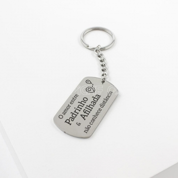 Porta chaves Padrinho & Afilhada