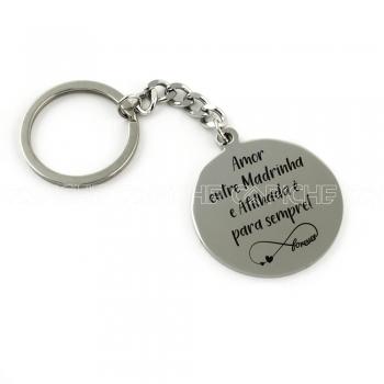 Porta chaves Madrinha Afilhada