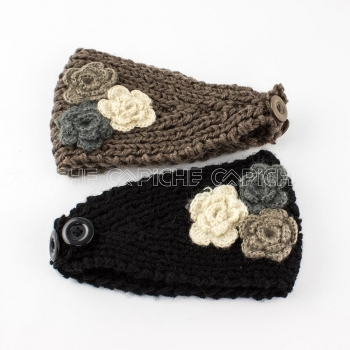 Fita tricot Flores