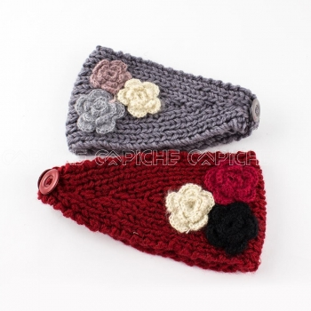 Fita Tricot Flores