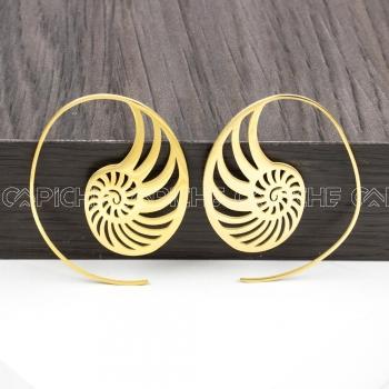 Argola Trival dourada