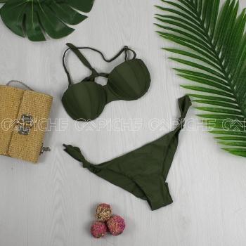 Bikini Buton Verde