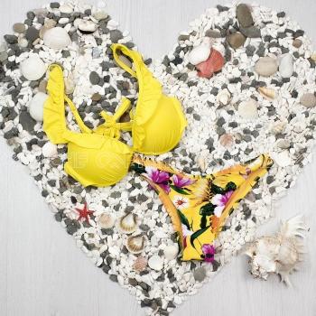 Bikini Folhito Amarelo