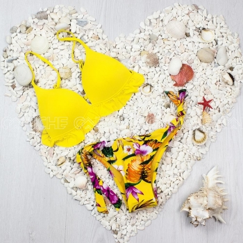Bikini Malva Amarelo