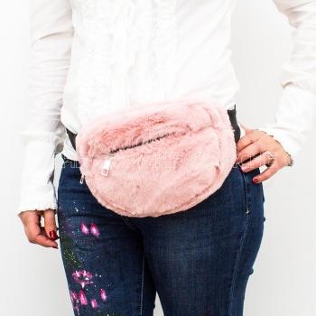 Bolsa de Cintura Fufy Rosa