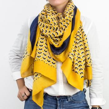 Écharpe Escamas Amarelo