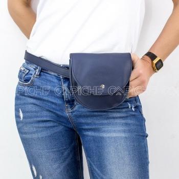 Mala de cintura  Zhan azul