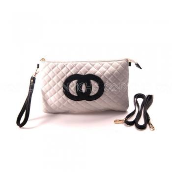 Mala preto e branco inspiração #Chanel