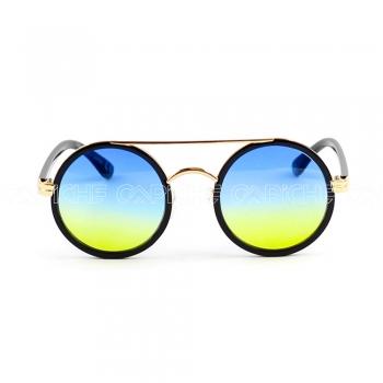Óculos de sol Round Blue