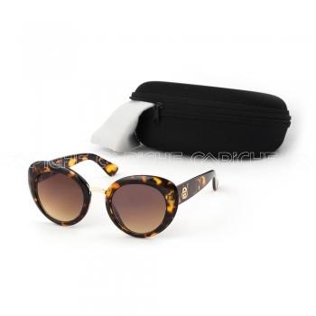 Óculos de sol GGCat Castanho