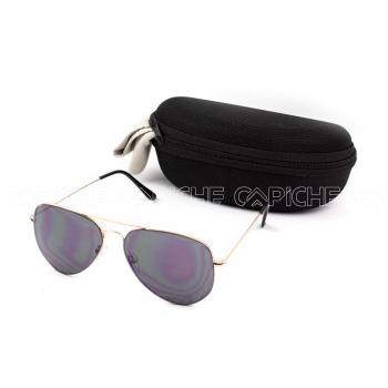 Óculos de sol Aviator water Black