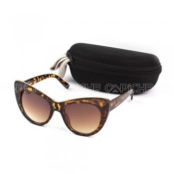 Óculos Lotus castanho