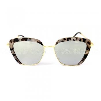 Oculos de sol Square Turtle Cinza