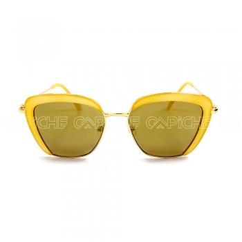 Oculos de sol Square Amarelo
