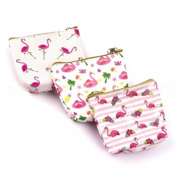 Porta Moedas Flamingo