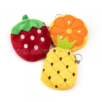 Porta Moedas Frutas