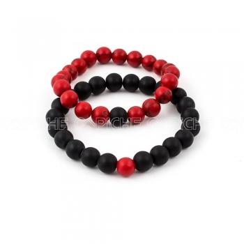 Pulseiras Black & Red