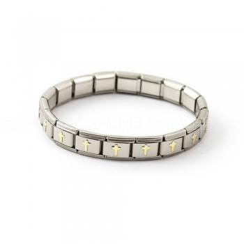 Bracelete Simbol Cruz