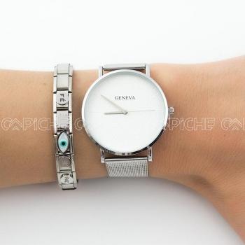 Relógio Chike branco