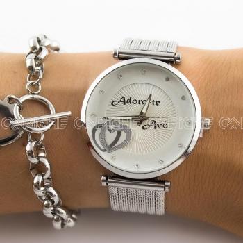 Relógio Aço Adoro-te Avó