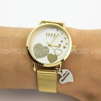 Relógio em aço Madrinha