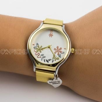 Relógio Flores Afilhada