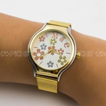 Relógio Flores Mãe