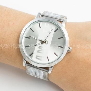 Relógio Amo-te Prateado