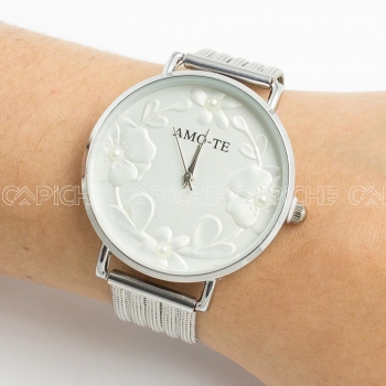 Relógio Amo-te Prata