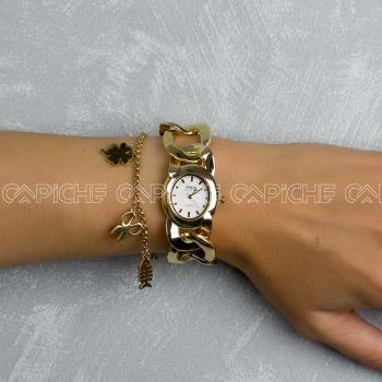 Relógio Chain Gold