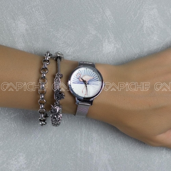 Relógio Flamingo