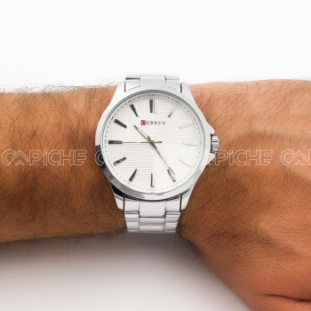 Relógio Aço Derbi silver