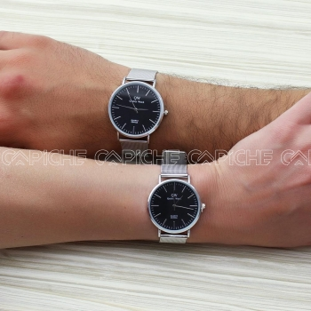 Relógio Lovers Silver