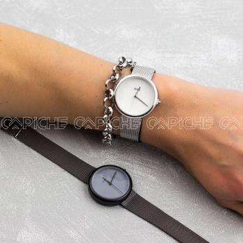 Relógio Aço  Monique