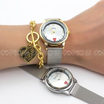 Relógio em Aço  Mãe