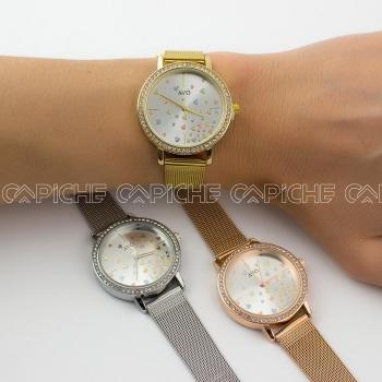 Relógio em aço Amor Avó
