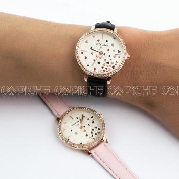 Relógio Hearts