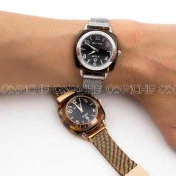 Relógio em aço Pantera