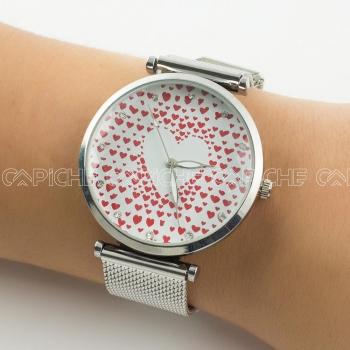 Relógio Paixão Prateado