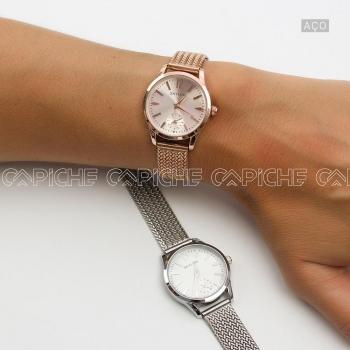 Relógio em aço Petal