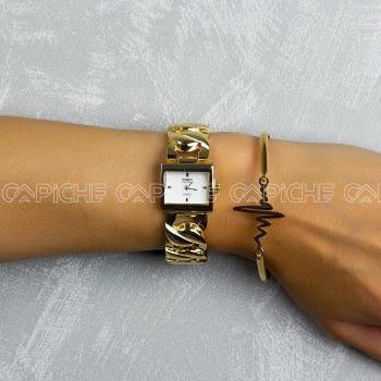 Relógio Squa Gold