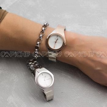 Relógio em aço Tara